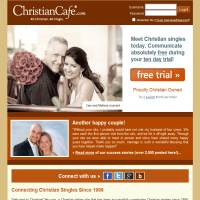 Christian Cafe image